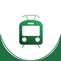 pociag-green
