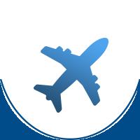 Podróż samolotem Trydent