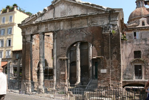portico d'ottavia roma